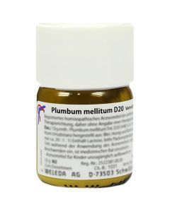 Weleda Plumbum Mellitum D12 Tav 180 Compresse