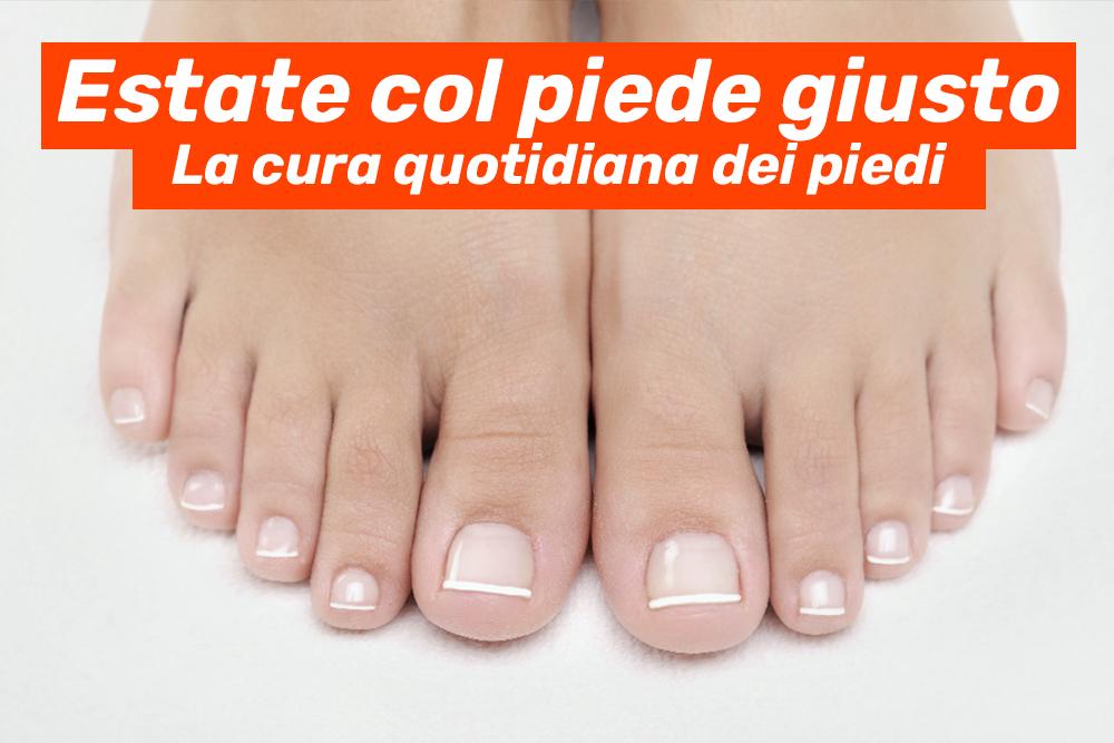 Estate col piede giusto: La cura quotidiana dei piedi