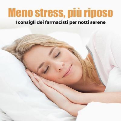 Meno stress, più riposo