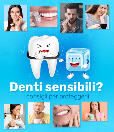 Denti sensibili al caldo e al freddo: alcuni consigli per alleviare il fastidio